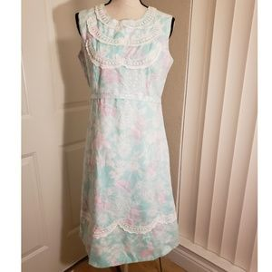 Vintage lilly pulitzer butterfly dress